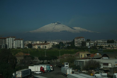 Goodbye, Etna and Catania