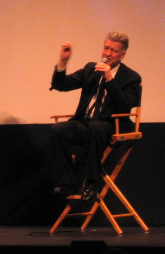David Lynch Speaking