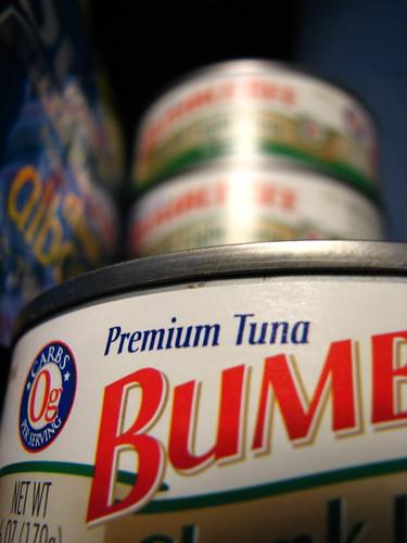 Yum yum yum, bumblebee tuna!