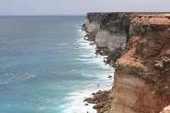 Coastal cliffs near Eucla