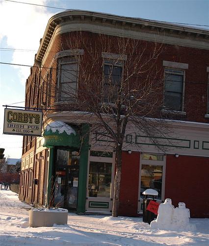 Snowy Corby's