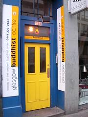 Glasgow front door