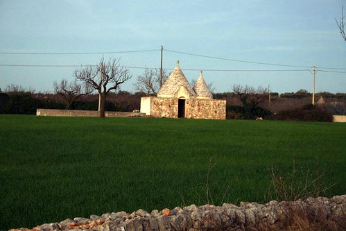 Our first trullo!