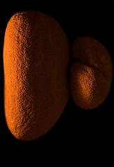 Sandstone (escher is still alive) Tags: rock sandstone pebble balanced candlelit