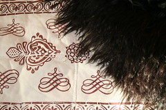 Details sheepskin blanket (greteturid) Tags: wool pattern sheep skin details culture printing blanket handycraft sheepskin