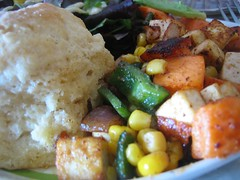 Vegan Biscuit and Hash at Bleeding Heart for Brunch (photo: Rose G.jpg