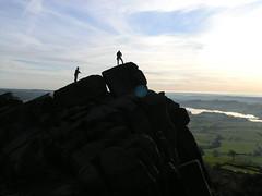 P2040346 (Andrew Kettell) Tags: rocks rockclimbing staffordshire tittensorresevoir
