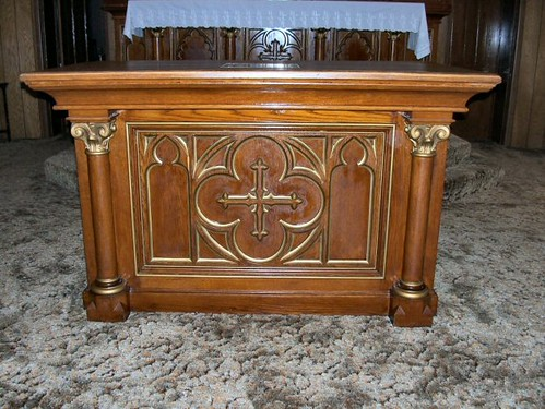 Commissioned Church Side Altars Complete By Mark A