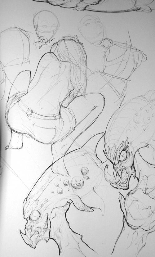 Sketchbook by Tom