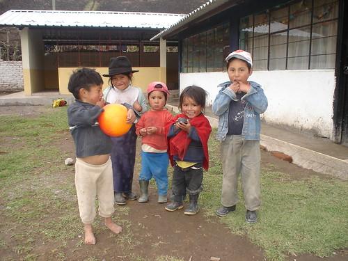 Niños Indígenas en Guardería