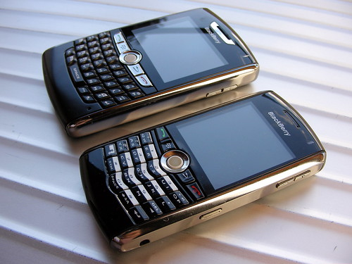 BlackBerry 8800 and Pearl
