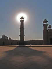 Shadowlight Lahore mosque
