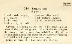 sagosoppa