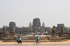 Angkor Wat Complex Entance Walkway