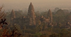 Angkor Wat View from Bakeng Hill