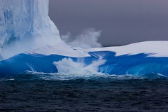 Blue (Greenpeace Esperanza) Tags: world ocean sea ice water ross south greenpeace antarctica save whales iceberg southernocean eis esperanza defend eisberg antarktis