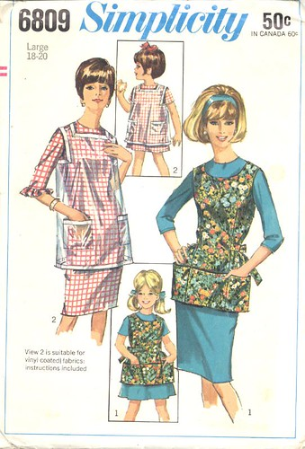 Futuristic Apron, 1966
