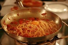 Spaghetti alla Sabatini