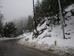 Snowfall at Murree