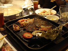 Chinese Hot Pot and Korean Grill