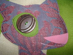 tote close-up (~aorta~) Tags: cat etsy applique tote aorta