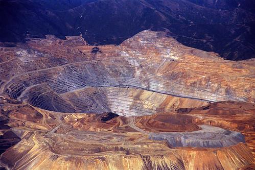 Bingham Canyon Mine, Salt Lake City, Utah