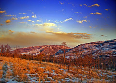 Rouge (Nicholas_T) Tags: winter sky snow mountains clouds landscape dusk pennsylvania hills creativecommons barrens bluemountain appalachianmountains stratocumulus kittatinnymountain carboncounty lehighgap lehighcounty