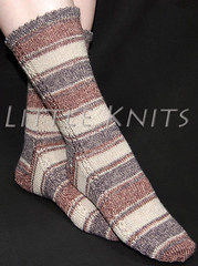 Little Acorn Socks with Austerman STEP at Little Knits