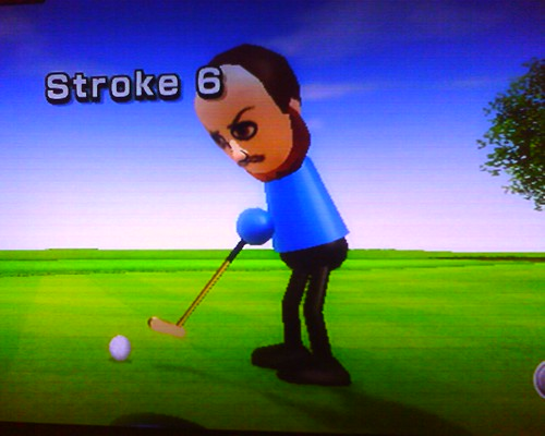 Look at mii golf!