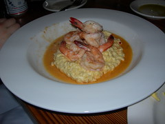 shrimp & grits, farm 255