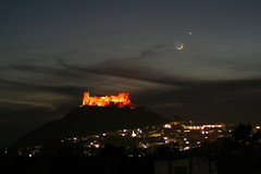 Castle and the Moon (PacoBellido) Tags: castle competition castillo apod almodovar earthandsky pacobellido nasacalendar