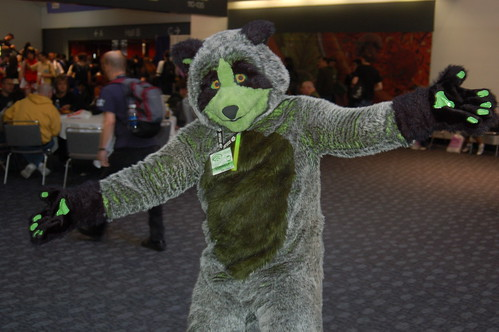 Wonder Con 2007: Radioactive Raccoon