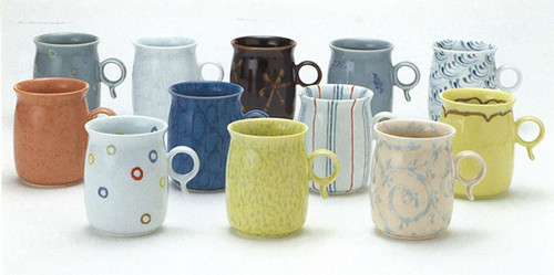 QtypeMugs MASAHIRO MORI CERAMIC DESIGN EXHIBITION