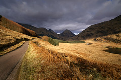 Glen Etive (Kenny Muir) Tags: light mountain landscape scotland highlands wideangle glen glencoe loch etive sigma1020mm ldr ndgrad