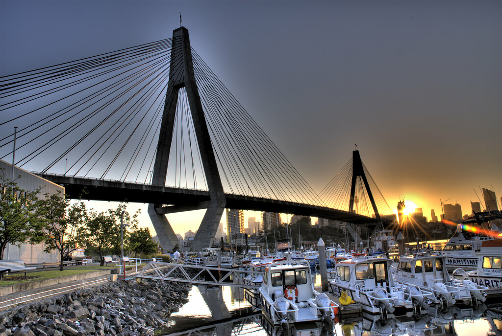 35+ Magnificent Anzac Bridge Photos