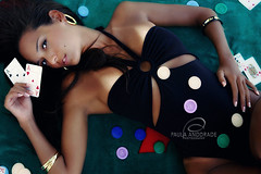 gamble? (_Paula AnDDrade) Tags: woman beauty photography mulher poker fotografia tica brunnete paulaanddrade flickrdiamond
