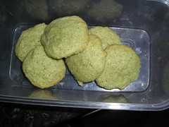 Green tea Biscuits: The Finished Biscuits