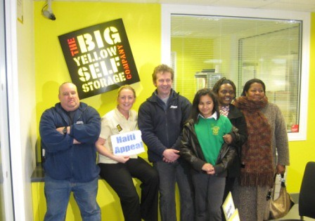 Big Yellow Self Storage Birmingham Helping Haiti