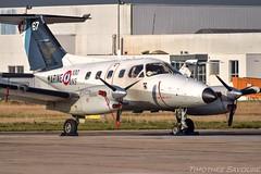 [LBG] Marine Nationale Embraer 121 Xingu (Timothée Savouré) Tags: 67 marine nationale embraer emb 121 xingu