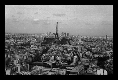 Eiffel from Montparnasse tower