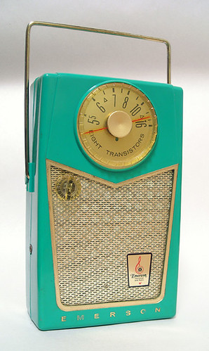 Emerson Pioneer 8 Transistor Radio, 1958