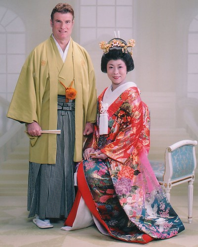 Japanese Wedding Gown: Focus On The Stories: Wedding Wednesday: Cultural