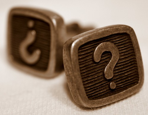 Copywriting Questions - Cufflinks