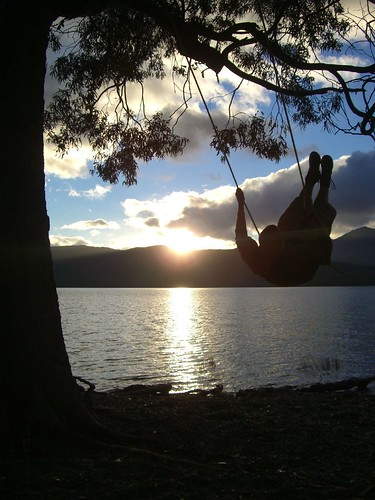 Sunset Swing Shot