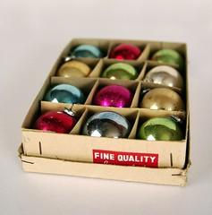 thrifted xmas balls