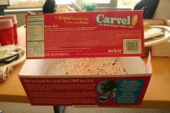 All gone... :) (pengrin) Tags: california icecream carvel sanbruno