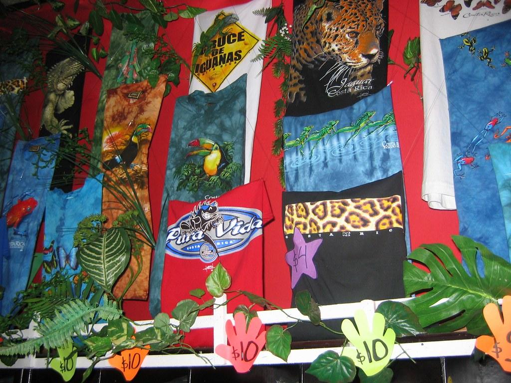 Costa Rica T-Shirts (Pura Vida)