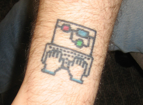 Let's hear it for keyboard tattoos!
