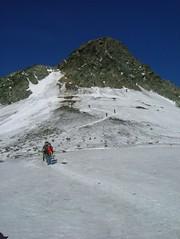 """Anstieg zum """"Klettergarten"""" (guebosch) Tags: mountaineer grossglockner bergsteigen guebosch"""