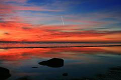 Dawn Satellite Launch (8230This&That) Tags: morning sun beach water clouds sunrise reflections bay space satellite scenic shore chesapeake calvert chesapeakebay chesapeakebeach iloveit satellitelaunch mywinners abigfave abigfav onegoodphoto anawesomeshot